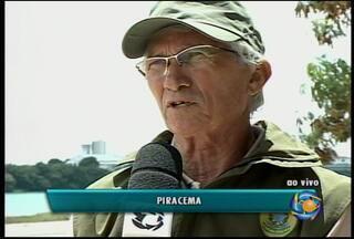Piracema começa nesse sábado e a pesca com redes fica proibida - O pescador que desobedecer a determinação do Ibama pode ser punido.