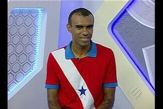 Dewson Fernando participa do Globo Esporte - Novo árbitro Fifa conta como recebeu notícia.
