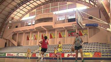 Feminino de Ponta Grossa faz últimos ajustes antes da final do Paranaense de Basquete - Feminino de Ponta Grossa faz últimos ajustes antes da final do Paranaense de Basquete