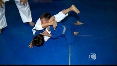 Judocas treinam para participar da Copa Cidade Teresina - Judocas treinam para participar da Copa Cidade Teresina