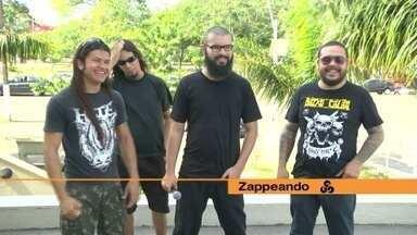 Bandas regionais agitam luau e são destaque no Zapp deste sábado (1º) - Programa traz ainda Death Metal, tattoo e passeio de moto.