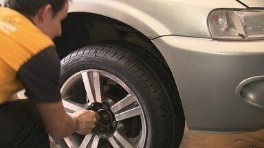 Furtos de rodas preocupam moradores da Asa Norte - Furtos de rodas preocupam moradores da Asa Norte. Eles reclama da falta de policiamento.