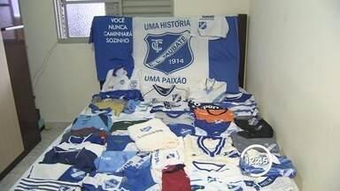 Torcedores comemoram o centenário do Esporte Clube Taubaté - Clube completa 100 anos neste sábado (1°).