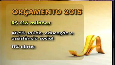 Secretaria da Fazenda apresenta previsão de orçamento de Erechim, RS, para 2015 - A previsão de R$ 216 milhões e será distribuido entre saúde, educação, assistência social e obras.