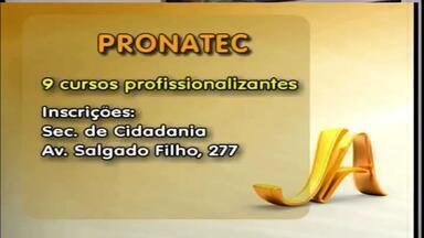 Pronatec tem nove cursos profissionalizantes com vagas abertas em Erechim, RS - Confira onde é possível realizar inscrição.