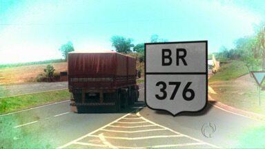 Paraná Tv começa série sobre uma das rodovias mais importantes do estado - Durante esta semana, você acompanha no Paraná Tv 2ª edição uma série de reportagens sobre a BR-376, rodovia que corta o estado de ponta a ponta.