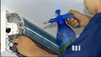 Aumenta a procura por ar condicionado na região - Antes de comprar o equipamento, consumidor deve se informar.