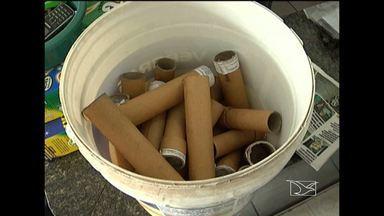 Presos em Santa Inês três homens suspeitos de fabricação clandestina de explosivos - Presos em Santa Inês três homens suspeitos de fabricação clandestina de explosivos