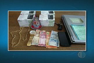 Polícia de Suzano prende suspeito de roubo - O homem teria participado do roubo em uma loja de locação para festas em Mogi das Cruzes.