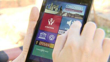 Congonhas ganha aplicativo de turismo virtual - Ferramenta permite internauta conhecer atrações da cidade