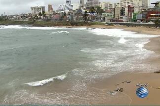 Travessia Salvador-Mar Grande é suspensa por conta da chuva - Chuva atinge a capital baiana desde o fim de semana por causa de uma frente fria.