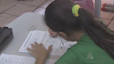 Alunos dos 16 municípios no Amapá passam por avaliação de conhecimentos - Alunos dos 16 municípios no Amapá passam por avaliação de conhecimentos