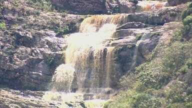 Fartura de água faz do Vale das Cachoeiras um oásis de mata verde - Cachoeiras com água perene são encontradas em pleno sertão baiano. Ambientalistas querem transformar o local em área de preservação ambiental.