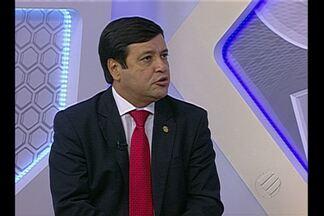 Alberto Maia, eleito presidente do Papão, participa do Globo Esporte - Alberto Maia, eleito presidente do Papão, participa do Globo Esporte