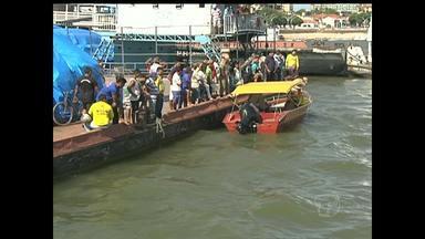 Continuam as buscas pelo homem desaparecido no Rio tapajós - Pescador caiu no rio após se enrolar na rede que utilizava para pescar.