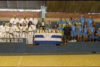 Montes Claros é campeão geral dos Jogos de Minas - Modalidades como handebol, futsal e caratê participaram dos jogos.