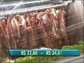 Consumidores do Vale do Aço estão preocupados com a alta no preço da carne - A receita é pesquisar.