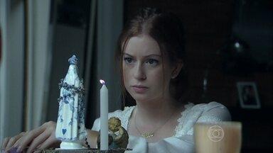 Maria Isis e Kelly conversam sobre João Lucas - Ela conta para a doméstica que Lucas pediu sua autorização para se casar com Du