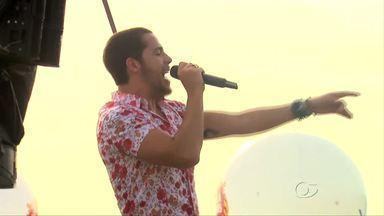 Banda Jamil grava DVD na orla de Maceió - Evento náutico ocorreu na orla da Praia de Ponta Verde.
