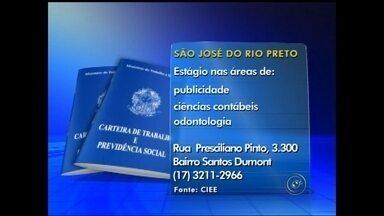 Empregos: confira as oportunidades na região noroeste paulista - Empregos: confira as oportunidades na região noroeste paulista nesta quarta-feira (3).