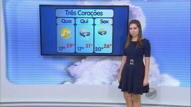 Confira a previsão do tempo no Sul de Minas para esta quarta-feira (3) - Confira a previsão do tempo no Sul de Minas para esta quarta-feira (3)