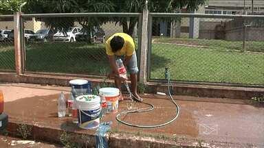 Falta de água tem mudado a rotina de muita gente em Imperatriz - Falta de água tem mudado a rotina de muita gente em Imperatriz