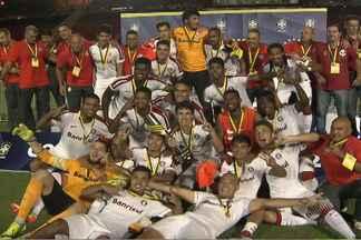 Equipe Sub 20 do Internacional vence o Vitória e leva o título da Copa do Brasil - A partida foi no Barradão, em Salvador, e a garotada Rubro-Negra teve o apoio da torcida, mas não conseguiu o resultado desejado.