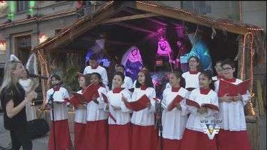 Espetáculo de natal acontece na Igreja Coração de Maria, em Santos - Evento ocorre três semanas antes das festas de natal.