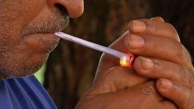 Fiscalização da lei antifumo em bares e restaurantes de Rondonópolis - Fiscalização da lei antifumo em bares e restaurantes de Rondonópolis.