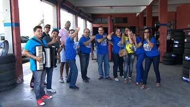 Equipe Azul acelera o ritmo das doações para a Amas - A equipe Azul do projeto 'Mãos Amigas' acelera o ritmo nas doações que beneficiarão a Amas-SE.