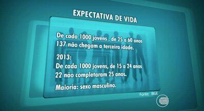 Expectativa de vida dos homens diminui devido a violência e a acidentes de trânsito - Expectativa de vida dos homens diminui devido a violência e a acidentes de trânsito