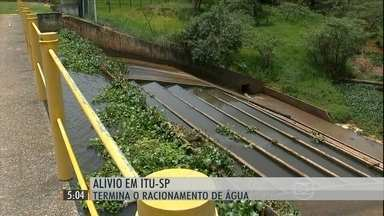 Racionamento de água chega ao fim em Itu após dez meses - O Sistema Cantareira está com 7,8% da capacidade. E o Alto Tietê, com 4,7%.