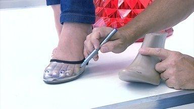 Saiba como são feitos os sapatos mais confortáveis para os pés - As fábricas de calçados estão desenvolvendo tecnologias para que os sapatos sejam elegantes, sem machucar os pés.