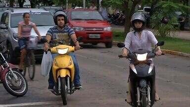 Número de motos supera o de carros em Sinop - Número de motos supera o de carros em Sinop