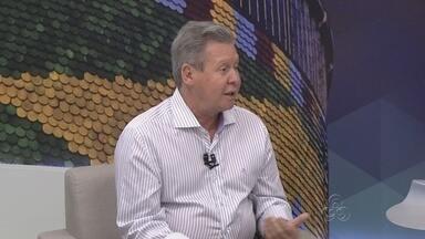 Prefeito de Manaus é entrevisto no Amazonas TV - Artur Neto falou sobre metas e respondeu a questionamentos de manauenses.