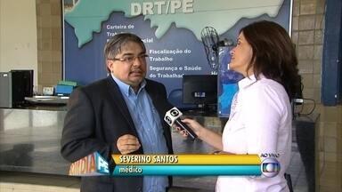 Especialista fala sobre intoxicação alimentar e cuidados no verão - Médico Severino Santos orienta como evitar esse tipo de problema.
