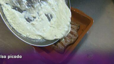 Fernando Kassab traz receita de filé ao molho de gorgonzola - Receita pode ser servida na ceia de natal.