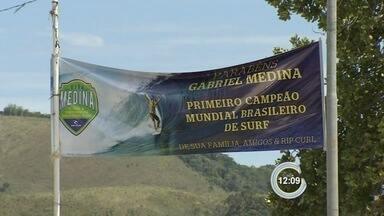 Maresias espera Gabriel Medina - Surfista campeão do mundo chega à praia no dia 24.