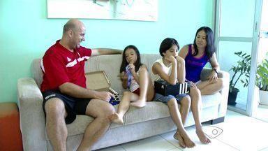 Esporte no ES ajuda a aproximar as pessoas no Natal - Época é tempo de comemorar a vida em família.