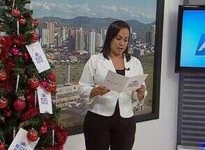 Universitário deseja um feliz Natal aos que fazem curso de Química na UFPE - Outros telespectadores também enviaram mensagens ao ABTV 1ª Edição.