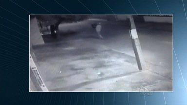 Preso por matar mulher grávida de jogar corpo em saco na rua confessa crime, diz polícia - Câmeras de segurança flagraram quando o homem deixou o corpo ao lado de outros sacos de lixo.