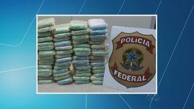 Quatro pessoas são presas com mais de 100 kg de droga, no AM - Caso ocorreu na Zona Leste da capital; droga estava em três carros.