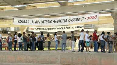Primeiro dia de funcionamento do Terminal Metropolitano de Vespasiano aponta falhas - Passageiros denunciam obras inacabadas e reclamam de falhas no funcionamento do local.