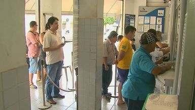 Terça-feira foi de movimento nas lotéricas de Ribeirão Preto - Muita gente quer garantir aposta na Mega da Virada.
