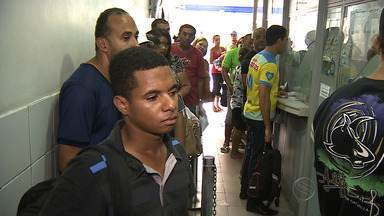 Dia movimentado no Centro Comercial de Aracaju - Dia movimentado no Centro Comercial de Aracaju.