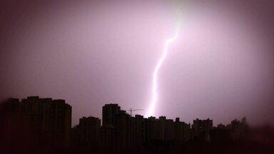 Temporal em São Paulo registra 359 raios e 3.913 relâmpagos - Ventos de até 96 km/h arrancaram 326 árvores em um violento temporal. Especialistas explicam o que você precisa saber para se proteger de raios.