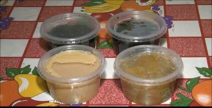 Quadro Paraíba Rural mostra produção de doces de frutas em Bananeiras, na Paraíba - Os produtos são vendidos em feiras da região.
