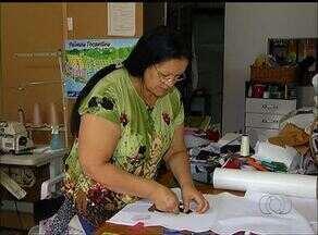 Trabalho de artesanato com retalhos é fonte de renda para empreendedoras de Palmas - Trabalho de artesanato com retalhos é fonte de renda para empreendedoras de Palmas
