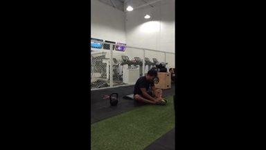 Raphael Viana mostra parte de seu treino - Assista!