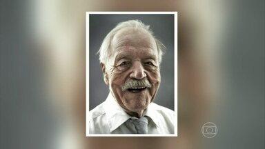 """Fotógrafo alemão registra imagens de idosos que chegaram aos cem anos - Ele realiza o projeto """"felizes aos 100"""" com fotos de centenários"""